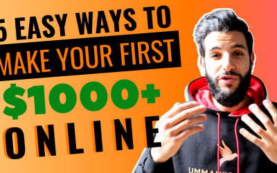 5 Easiest Ways To Make Your First $1000 Online