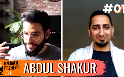 The Power Of Personal Branding & Building Communities w/ Abdul Shakur | Ummahpreneur Live Podcast #1