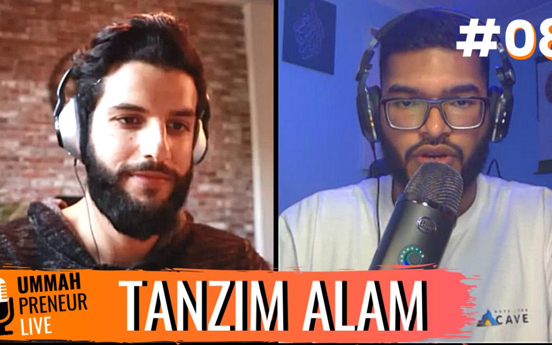 How To Start, Grow & Market Your Podcast w/ Tanzim Alam | Ummahpreneur Live Podcast #8