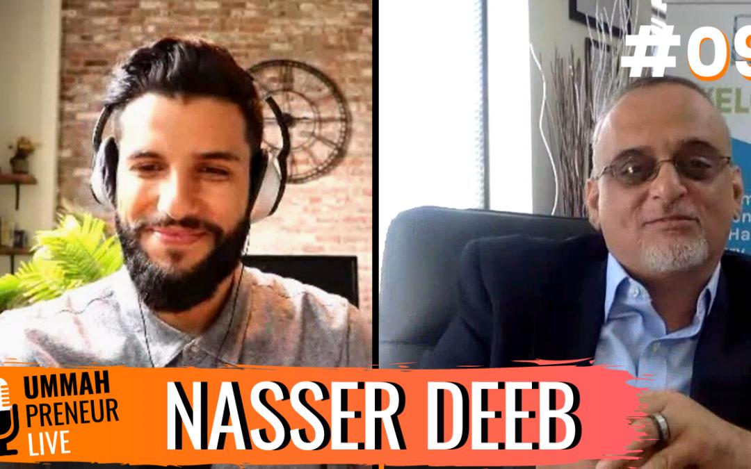 Creating North America's First B2B Halal Expo w/ Nasser Deeb | Ummahpreneur Live Podcast #9