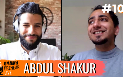 How To Sell Your High-Ticket Products & Services w/ Abdul Shakur | Ummahpreneur Live Podcast #10
