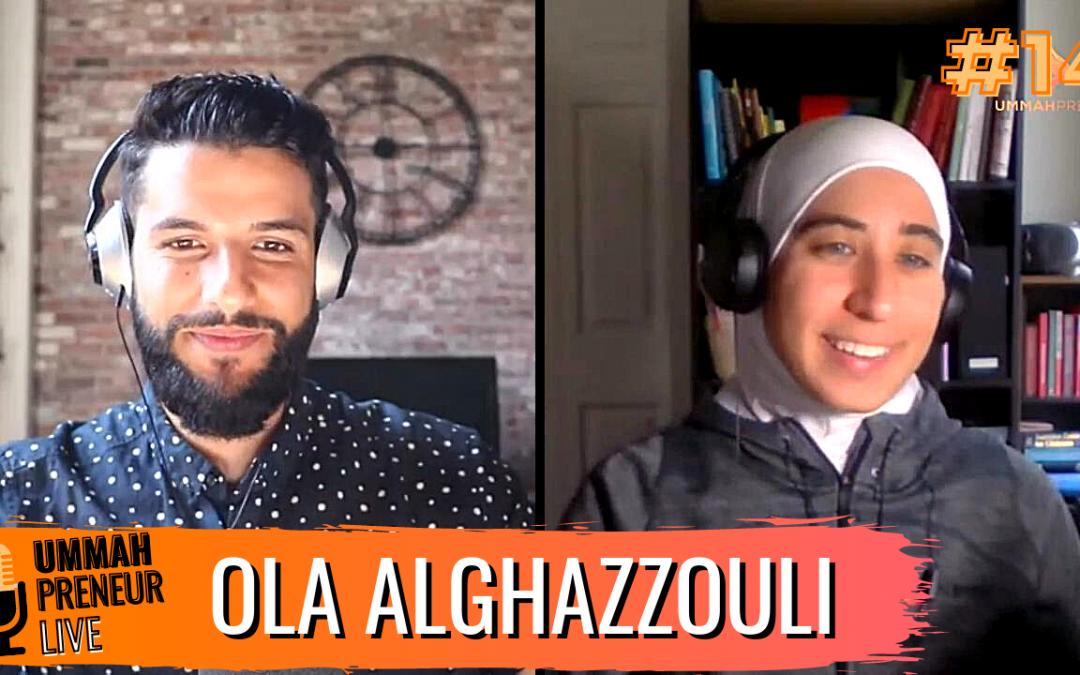 Uplifing Muslim Women Through Swimming w/ Ola Alghazzouli | Ummahpreneur Live Podcast #14