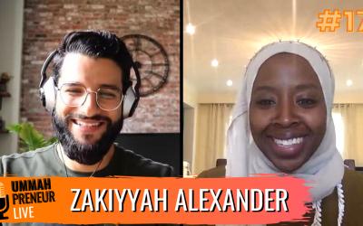 Creating Your Own Beauty Product Line w/ Zakiyyah Alexander | Ummahpreneur Live #17