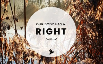 Our Body Has A Right Over Us