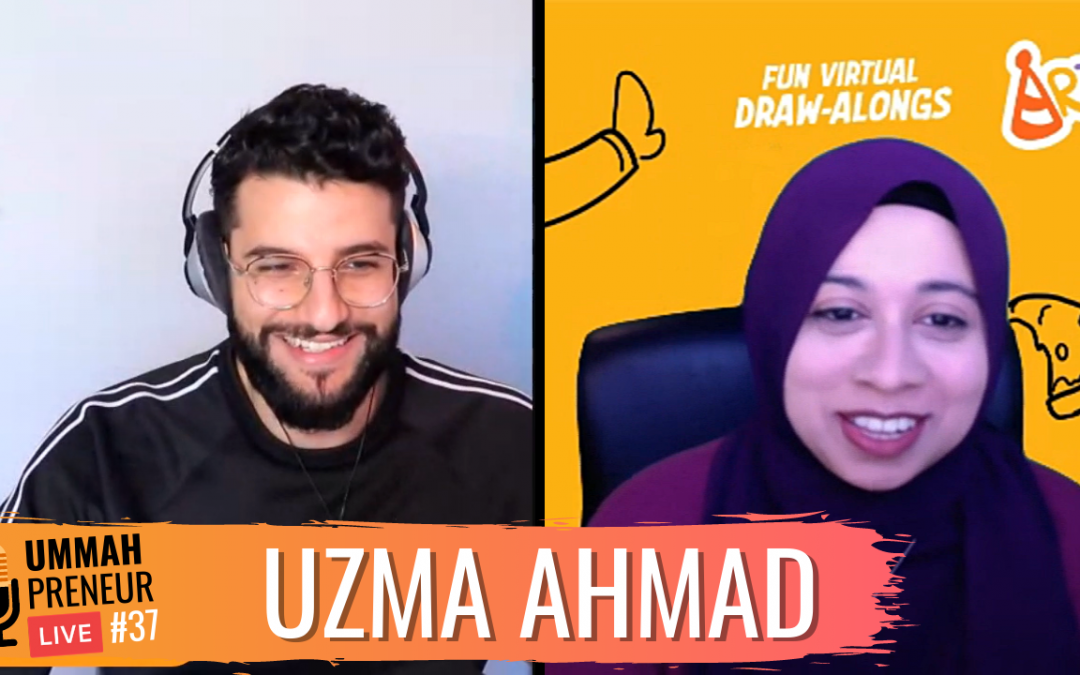 How I Turned My Passion For Art Into An Online Business w/ Uzma Ahmad